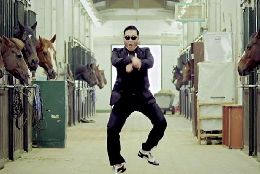 """Psy já faturou US$ 1,7 milhão com clipe de Gangnam style"""" - ClickPB"""