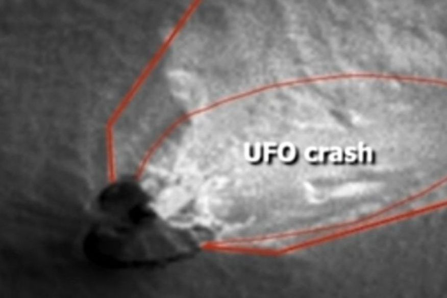 Disco voador quebrado é visto em Marte após Nasa divulgar imagens