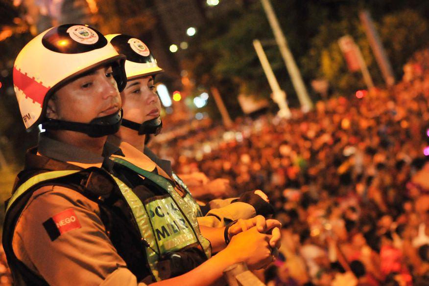 Mil homens da PM, Bombeiro e Polícia Civil vão garantir o desfile das Muriçocas do Miramar