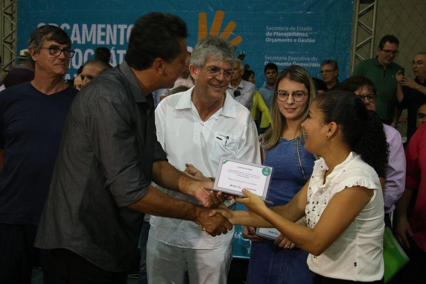 Orçamento Democrático Estadual reúne mais de 2 mil pessoas em Solânea