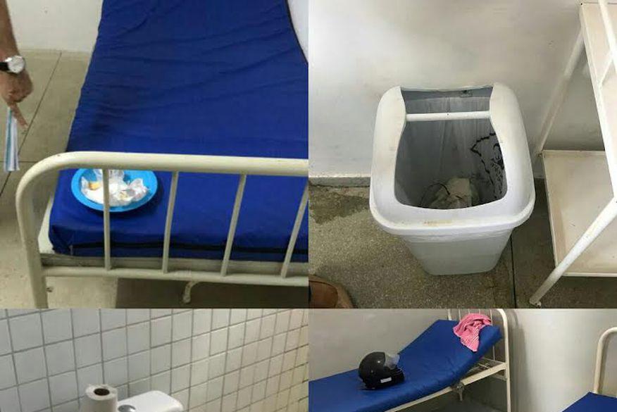 Vereador denuncia descaso na saúde de Sapé