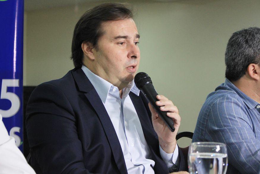 Resultado de imagem para Rodrigo Maia em João Pessoa