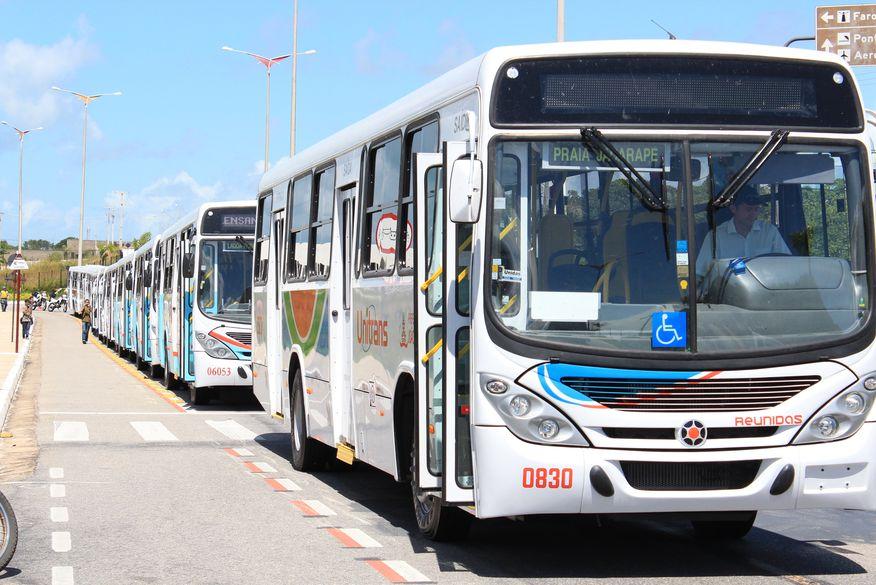 João Pessoa tem 17 ônibus depredados após Muriçocas do Miramar