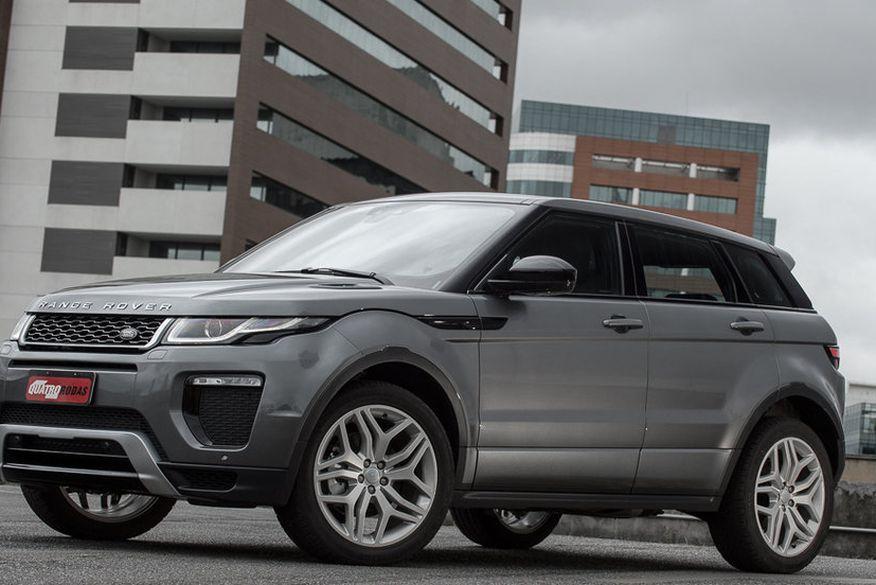 2a44addf55ac5 Primeiras unidades nacionais da Range Rover Evoque já estão à venda ...