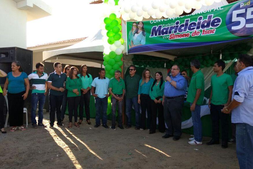 Convenções homologam dois candidatos a prefeito pelo PSD no interior do estado