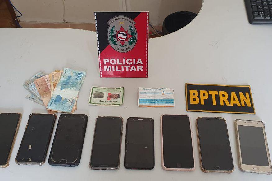 assalto_litoral_sul Homem é preso acusado de envolvimento em vários assaltos