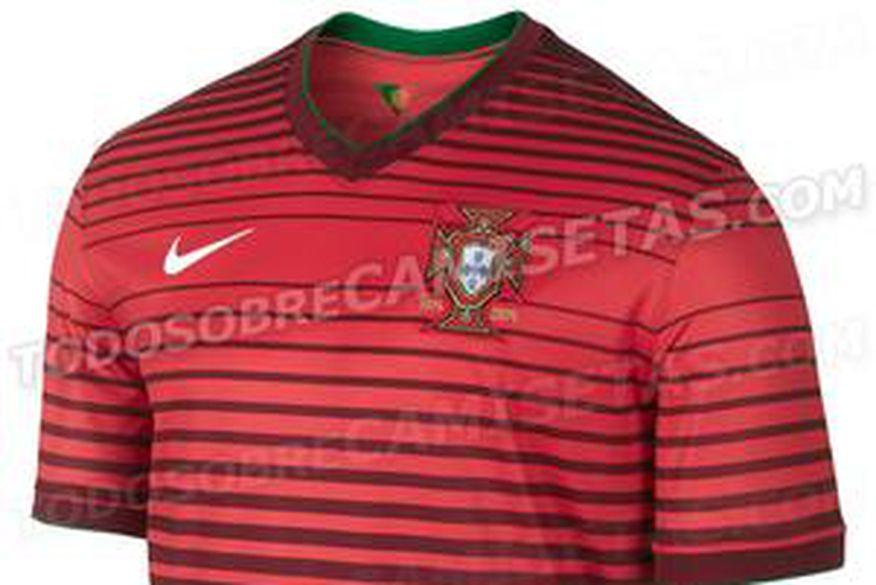 6f9420a0c63b9 Site vaza camisas de Portugal e mais três seleções para Copa - ClickPB