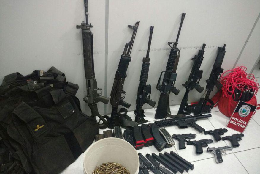 Polícia faz maior apreensão de armas e munições da História da Paraíba
