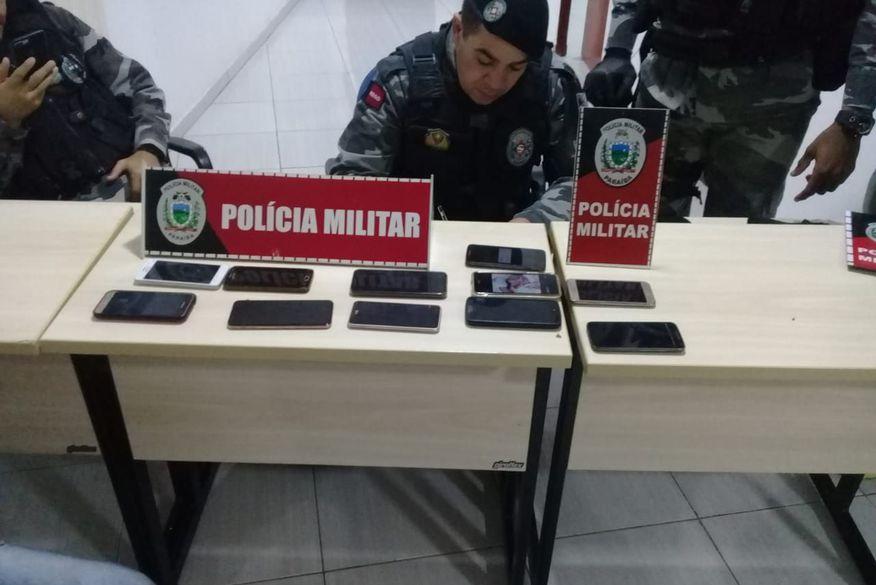 Quadrilha presa na PB se revezava para furtar celulares em festas no Nordeste